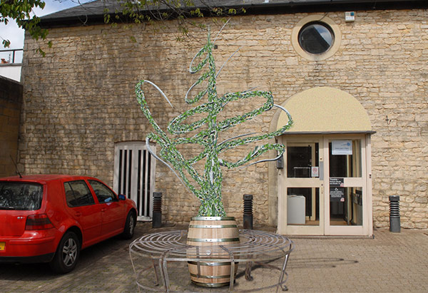 The Barrel Store Brewery Court Structure Fully Grown