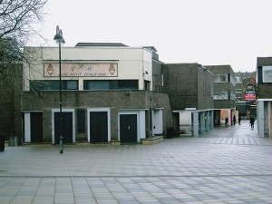 Swindon Town Centre Before