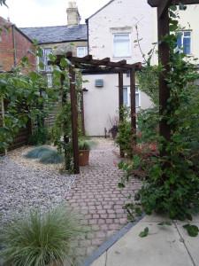 Garden Arch After