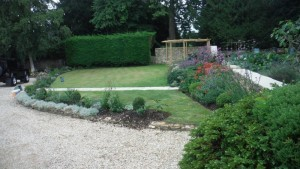 Garden re design after