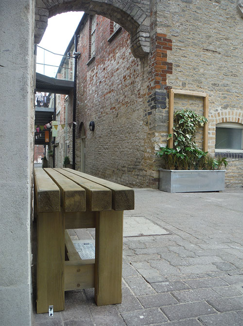 YHA New Benches