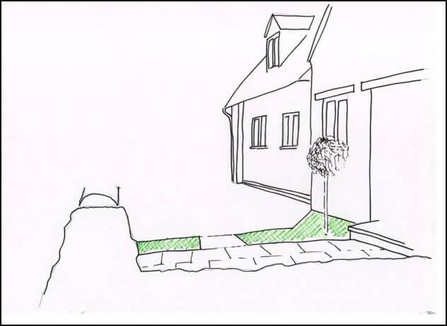 Park Lane Cottage - sketch