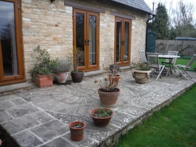 Park Lane Cottage - patio doors