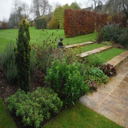 Park Lane Cottage - garden